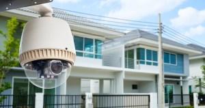 Surveillance cameras installation